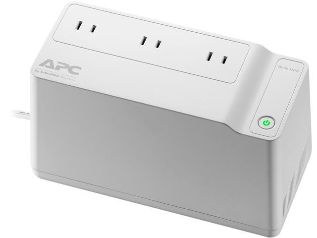 APC Back-UPS Connect BGE70 125 VA 75 Watts 3 Outlets UPS (+surge protector) $18@Newegg