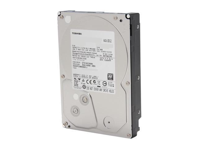 "3TB Toshiba DT01ACA300 3.5"" Internal Hard Drive $67.49AC@Newegg"