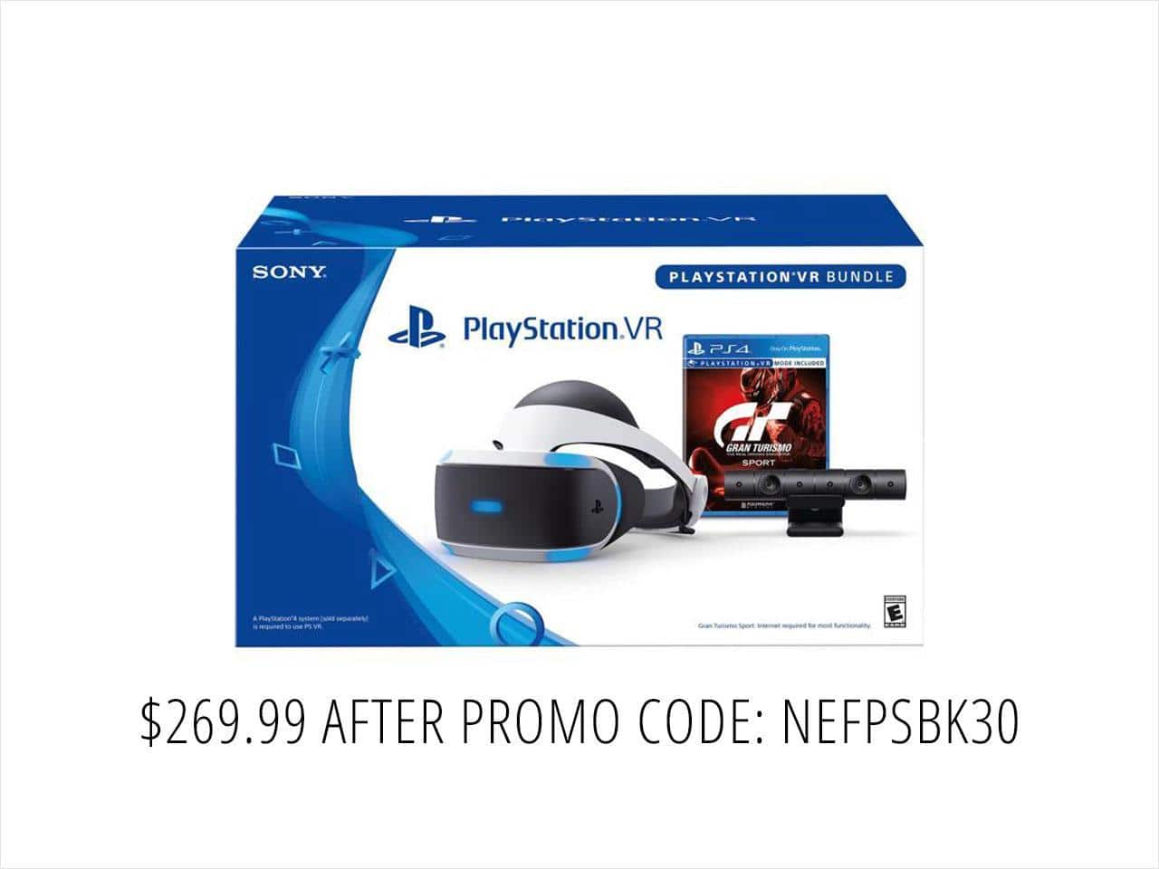 PlayStation VR -  GranTurismo Sport Bundle $270AC@NF