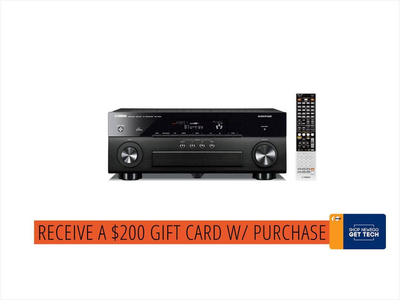 Yamaha RX-V683 7.2-Channel Network A/V Receiver (+ $200GC) $600@NF
