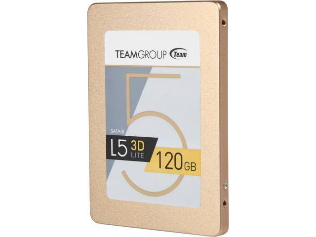 "120GB Team Group L5 LITE 3D 2.5"" 3D NAND SSD $35AC@Newegg"