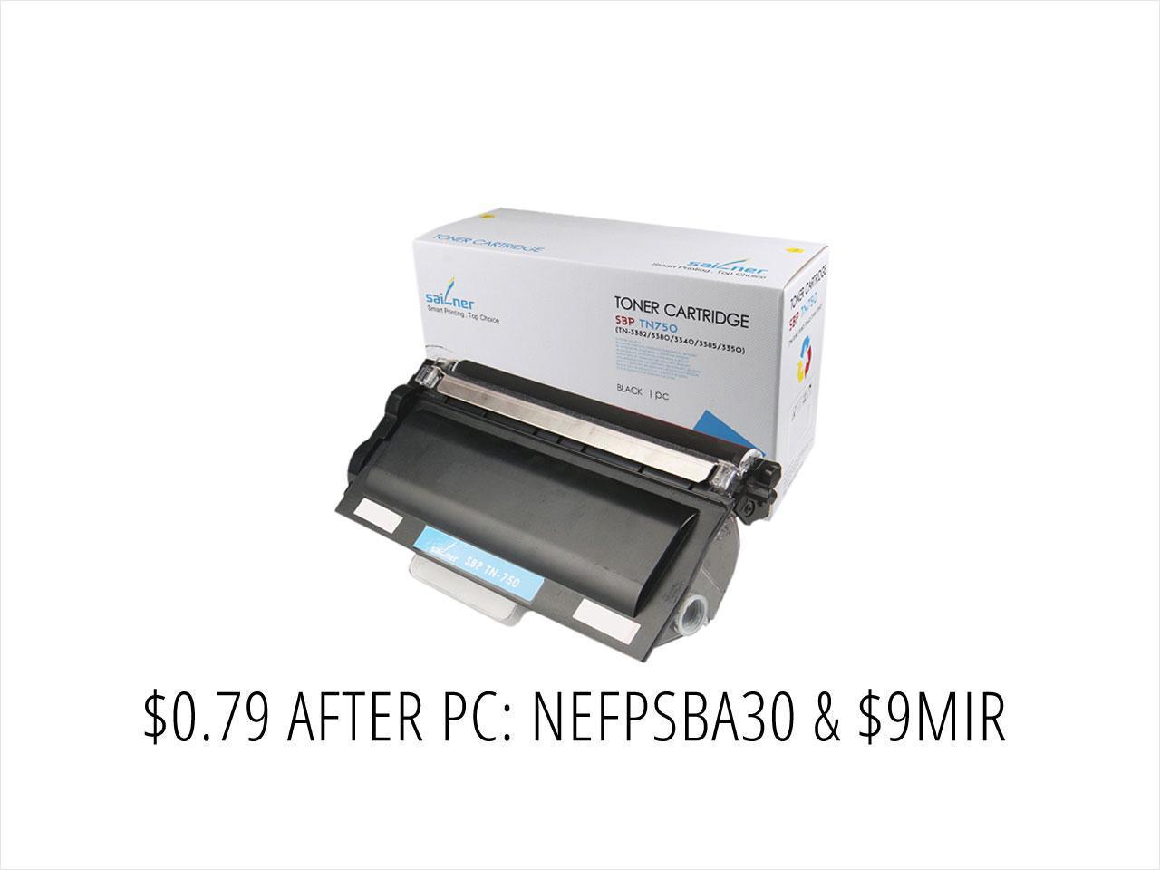 Sailner Compatible SBP-TN-750 Toner Cartridge (Brother Replacement) $0.79AR @NF