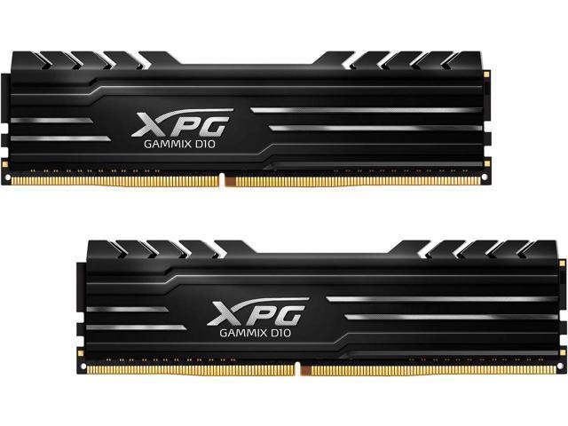 16GB (2 x 8) ADATA XPG GAMMIX D10 288-Pin DDR4 3000 Desktop SDRAM Memory AX4U300038G16-DBG $163AC