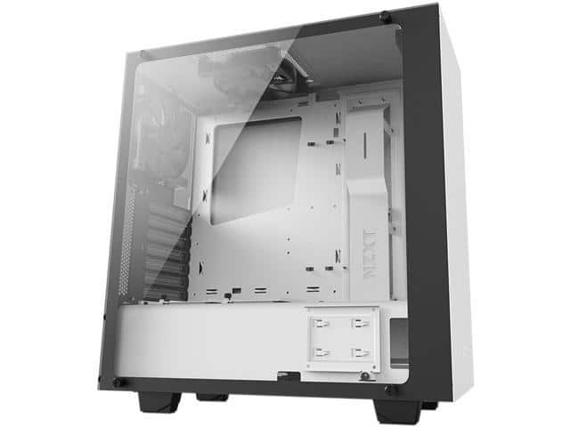 NZXT S340 Elite Matte White Steel/Tempered Glass ATX Mid Tower Case $60AR@Newegg