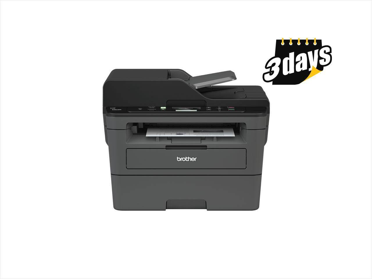 Brother DCP-L2550DW Multi-function Laser Printer $100@NF
