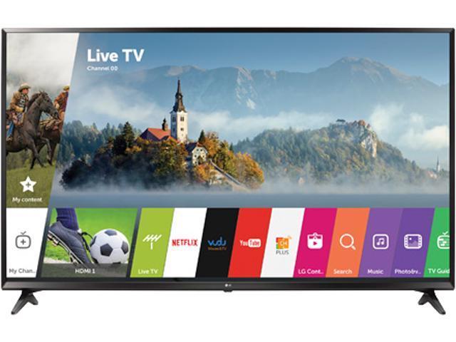 "LG 49UJ6300 - 49"" UHD 4K HDR Smart LED TV (2017 Model) $330AR@Newegg"