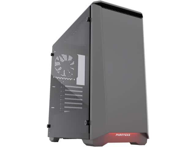 Phanteks Eclipse P400 Tempered Glass/Steel Anthracite Grey  Mid Tower Case $53AR@Newegg