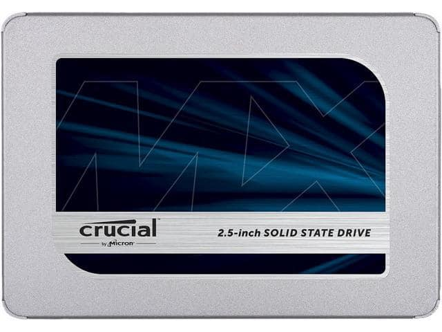 "500GB Crucial MX500 2.5"" 3D NAND SSD $130@Newegg/B&H/Amazon"