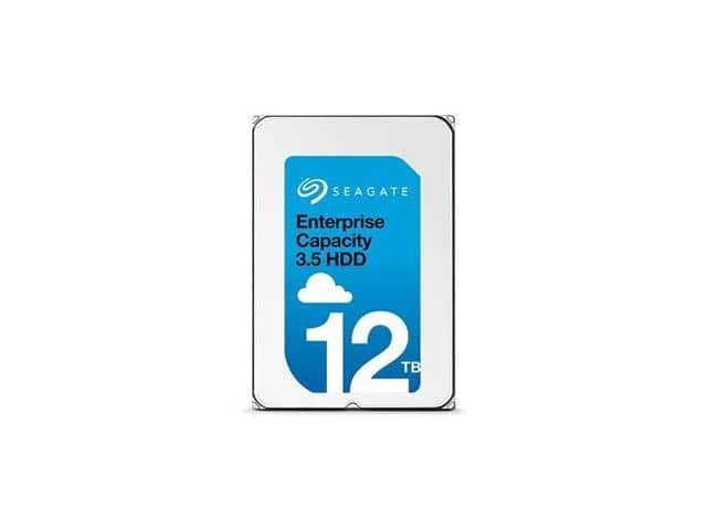 "12TB Seagate Enterprise Capacity ST12000NM0007 He 7200 RPM 3.5"" Hard Drive $390AC@Newegg"