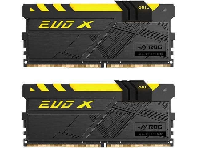 16GB (2x 8) GeIL EVO ROG DC DDR4 3000 Desktop RAM $154AC @Newegg 16GB SUPER LUCE RGB AMD $144AC