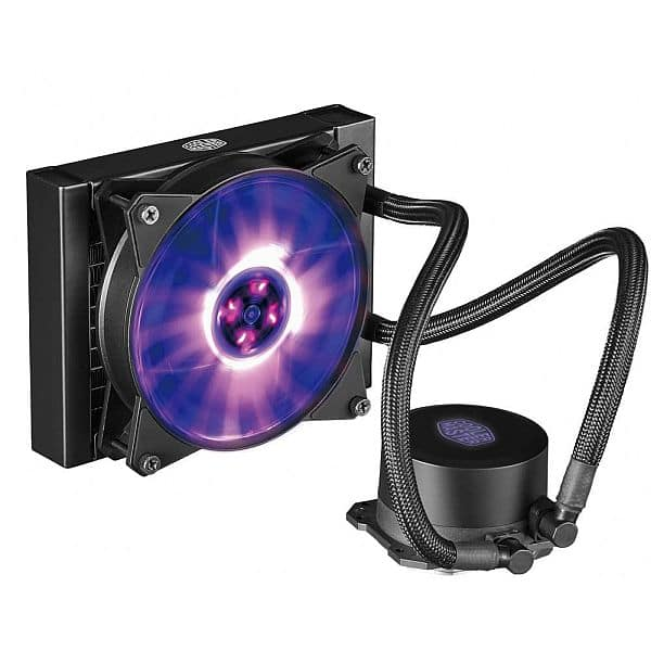 Cooler Master MasterLiquid ML120L RGB Water Cooling Kit $40AR@Microcenter