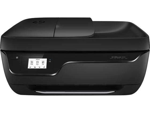 HP OfficeJet 3830 Wireless All-In-One Printer (Black) $40 / $35AC 4/6 only