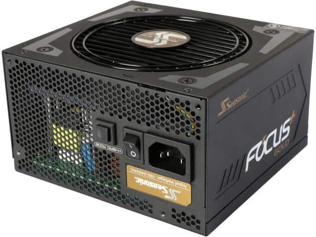 550W Seasonic FOCUS Plus Series SSR-550FX 80+ Gold Modular Power Supply $55AR@Newegg