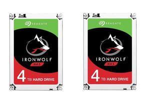 2x 4TB Seagate Ironwolf NAS Hard Drive $200 AC@Newegg