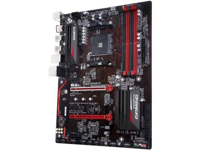 GIGABYTE GA-AX370-Gaming (rev. 1.0) AM4 Motherboard $73.49AR@Neweggg
