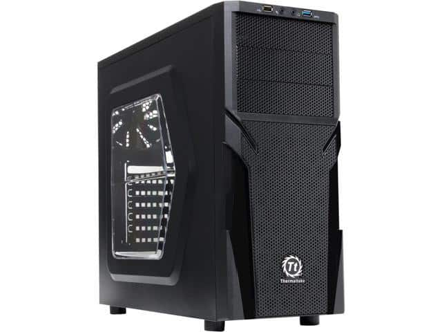 Thermaltake Versa H21 CA-1B2-00M1WN-00 Mid Tower Case $15 AR@Newegg