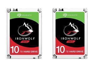 2x 10TB Seagate IronWolf NAS Hard Drive $572.52 @Newegg