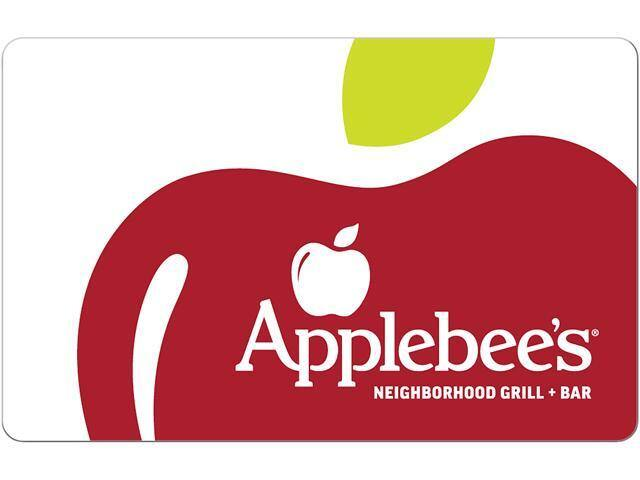Applebee's $25 Gift Card (Email Delivery)  $20 @Newegg