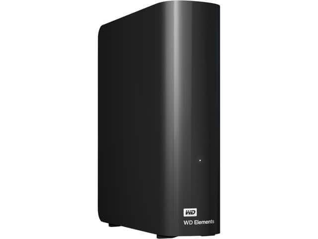 6TB WD Elements Desktop Hard Drive $109 AC @Newegg
