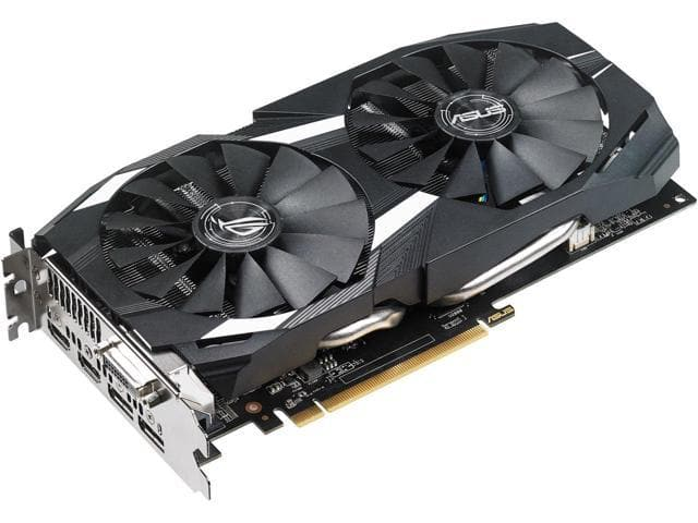 ASUS Radeon RX 580 O4G Dual-Fan OC Edition  Video Card $290 AR @Newegg