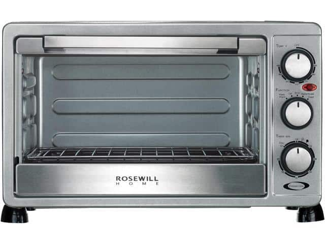 Rosewill RHTO-17001 6 Slice Toaster/Convection Oven Broiler with Drip Pan, Stainless Steel $40 AR @NF