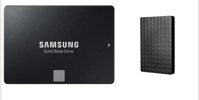 Samsung 860 EVO 250GB SSD $75 AC @Newegg w/2TB Seagate Expansion $120 AC