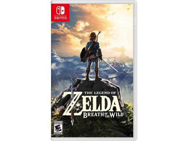 The Legend of Zelda: Breath of the Wild (Switch) $45 AC@Newegg