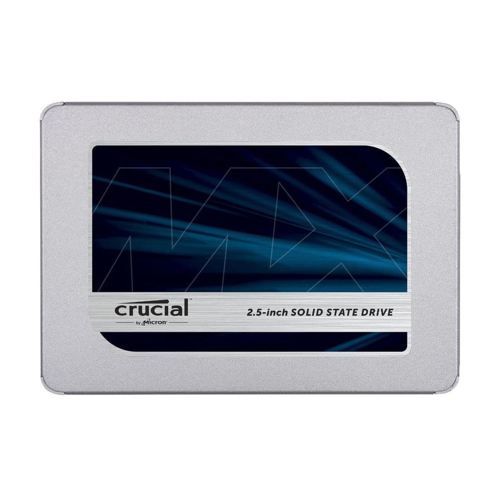 "500GB Crucial MX500 2.5"" 3D NAND SSD $115 @urlhasbeenblocked via eBay. B&H and Amazon"