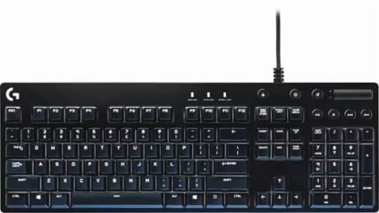 Logitech - Orion G610 Gaming Mechanical Keyboard $60@BestBuy
