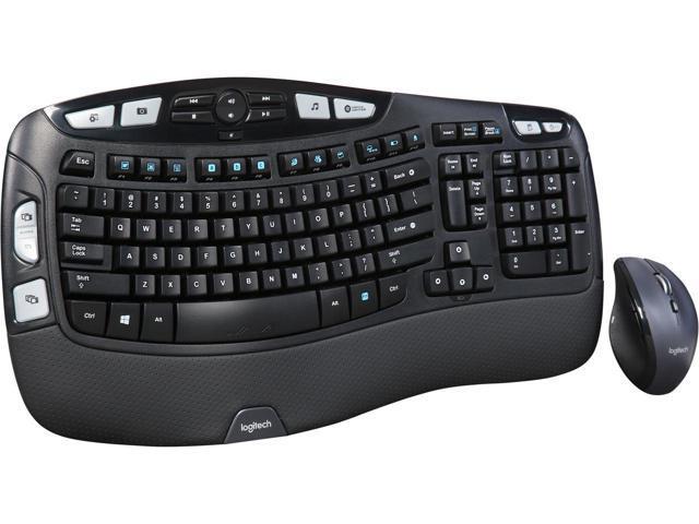 Logitech - MK570 Comfort Wave Wireless Keyboard and Optical Mouse - Black *RFB* $30 @Newegg Razer Black Widow Ultimate 2016 Mechanical Gaming *RFB* $57