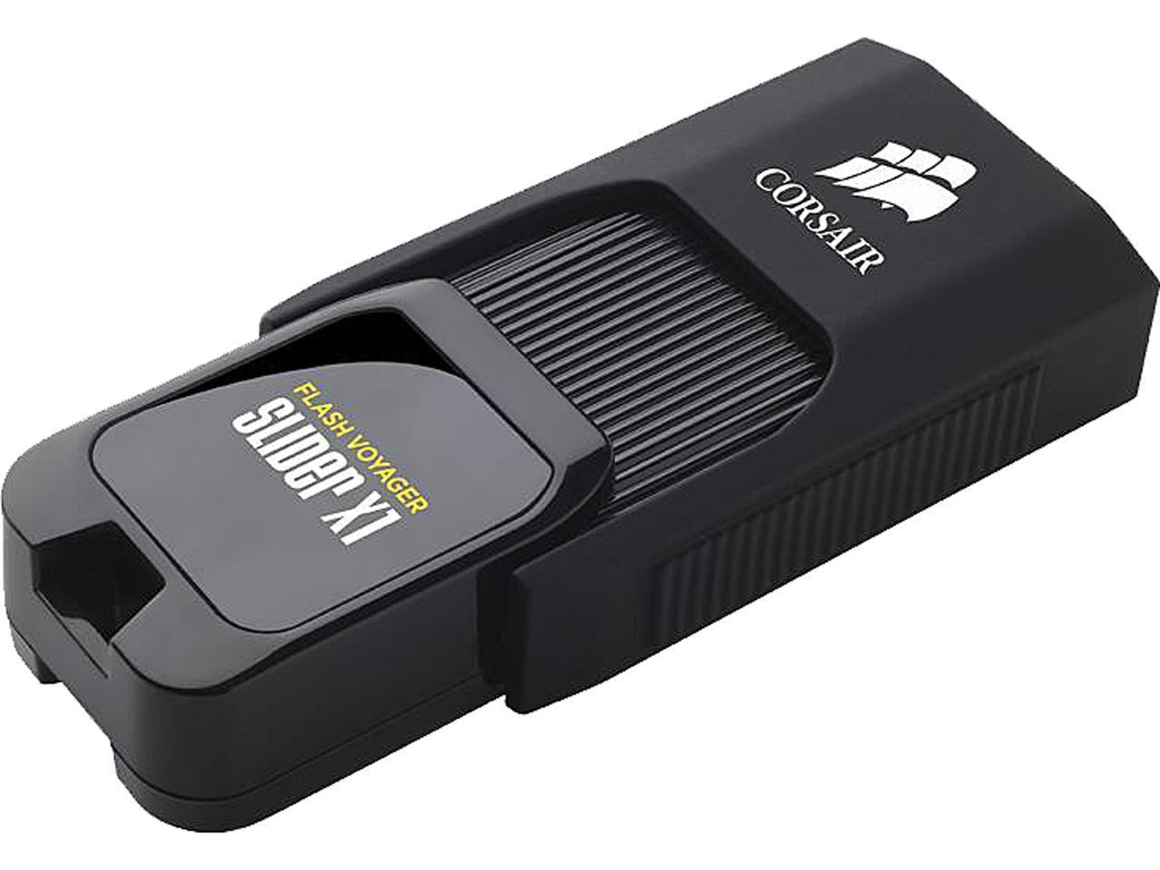 64GB Corsair Flash Voyager® Slider X1 USB 3.0 Flash Drive $18 @NF