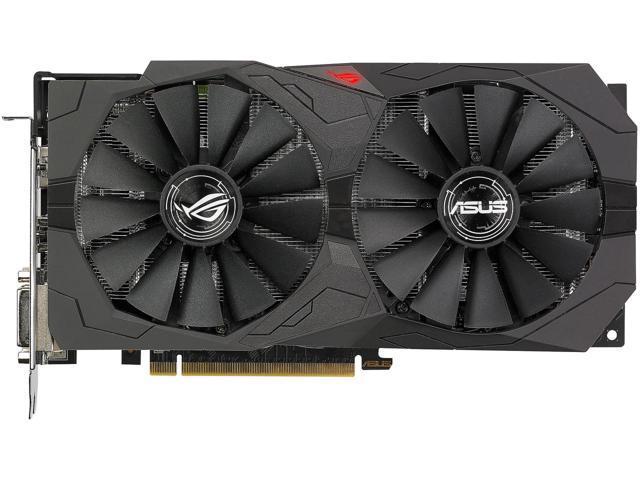 ASUS ROG Strix Radeon RX 570 O4G Gaming OC Edition GDDR5 Video Card $280 AR@Newegg