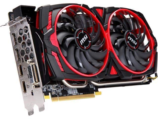 MSI Radeon RX 570 8GB Video Card $300 AR @Newegg