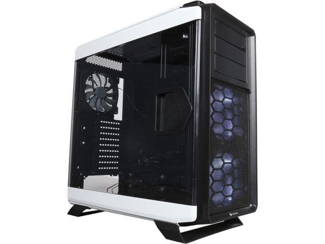 Corsair Graphite Series 760T White Full Tower Windowed Case + Corsair H50 liquid cooler $90 AR @Newegg