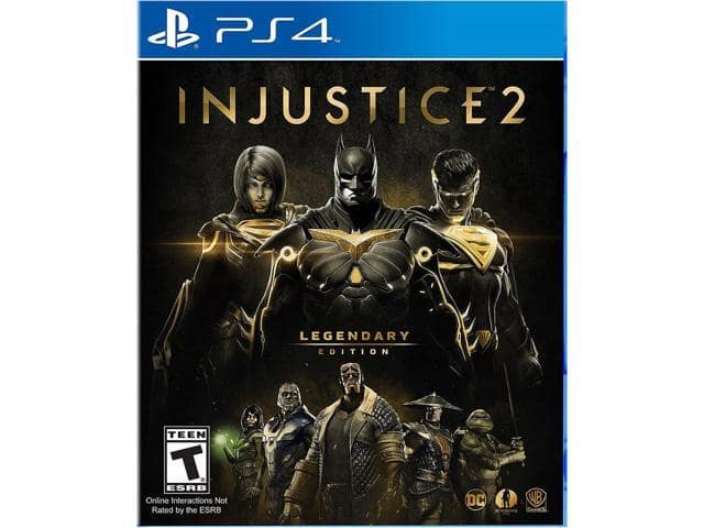 Injustice 2 Legendary Edition - PlayStation 4 $40 AC @Newegg