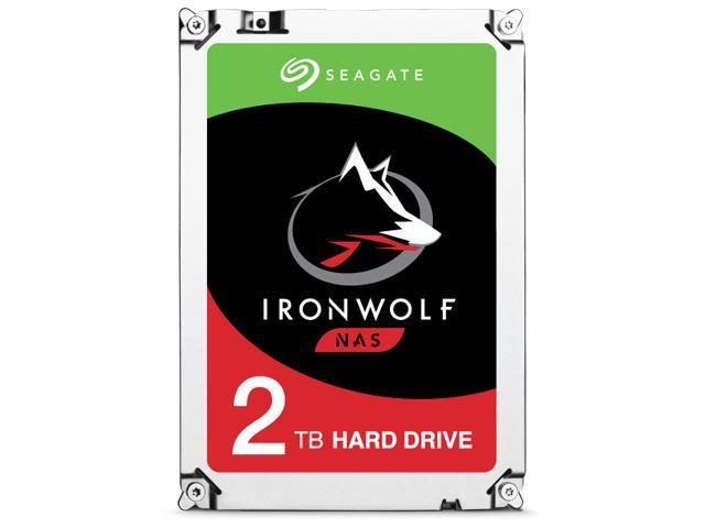2TB Seagate Ironwolf NAS HArd Drive $70 AC @Newegg