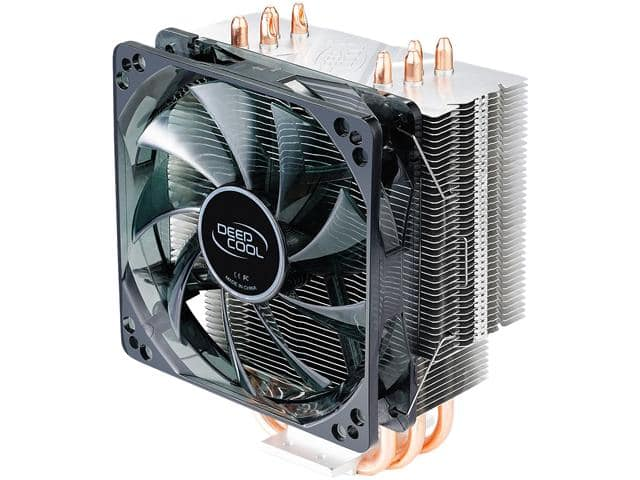 DEEPCOOL GAMMAXX 400 CPU Cooler 4 Heatpipes 120mm PWM Fan with Blue LED $13.79 AR @Newegg