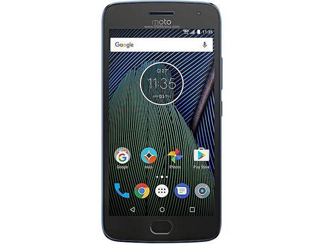 Moto G5 Plus 32GB Smartphone (Unlocked) Lunar Gray  $170 AC@Newegg