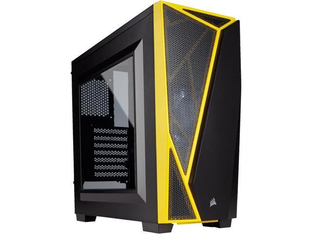 Corsair Carbide SPEC-04 Black/Yellow Mid-Tower Gaming Case $32.49 AR @Newegg