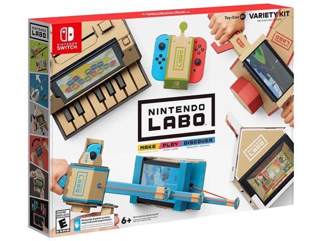 Nintendo Labo Variety Kit  (Switch) $55 AC @Newegg
