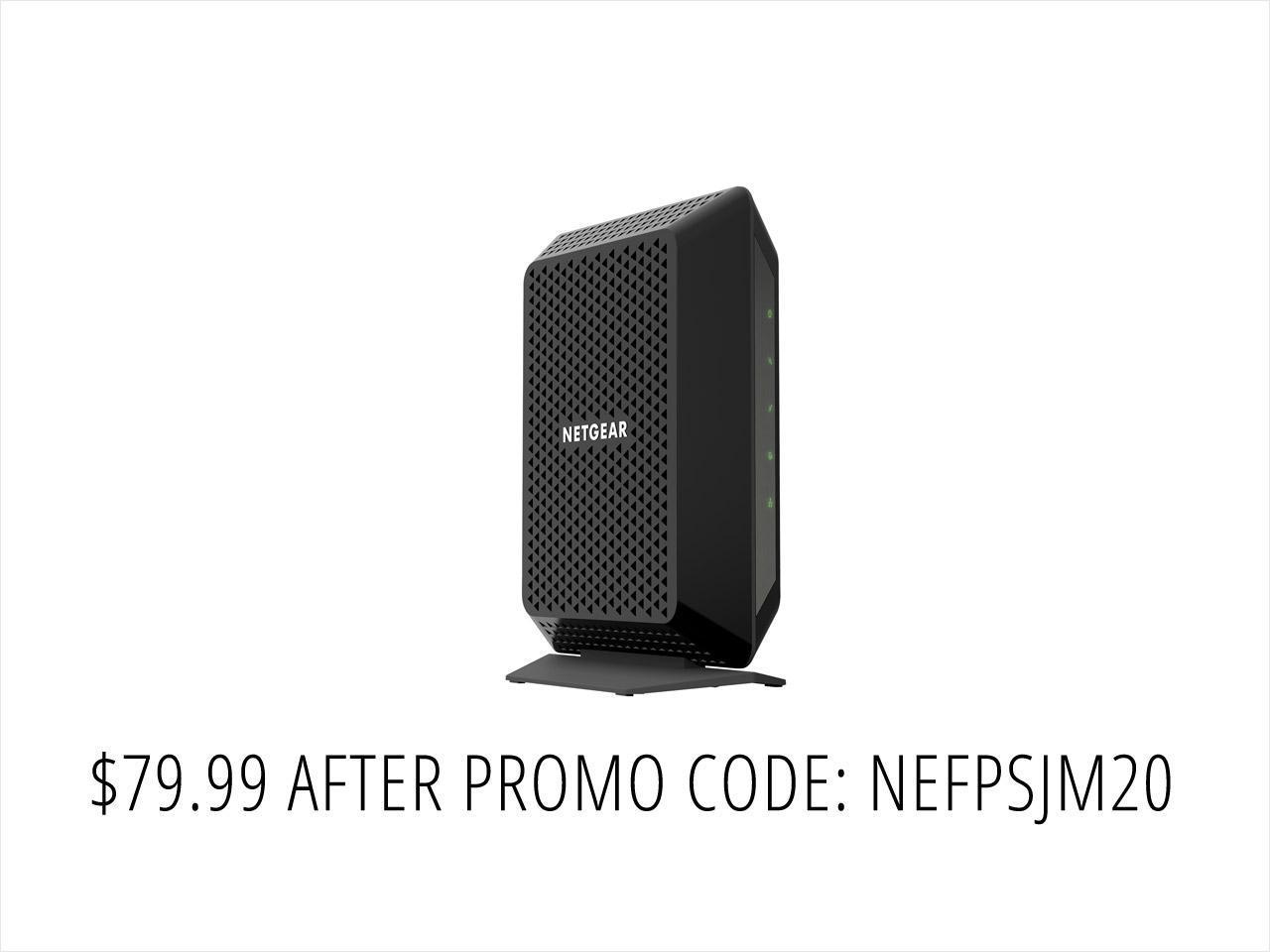 NETGEAR CM700 32x8 1.4Gbps DOCSIS 3.0 High Speed Cable Modem $80 AC@NF