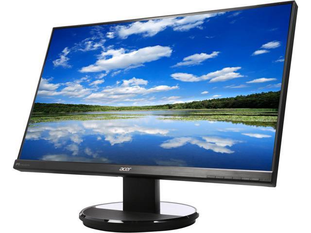 "27"" Acer K2 Series K272HUL WQHD 4ms IPS LED Monitor $220 AC@Newegg"
