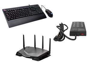 NETGEAR Nighthawk Pro Gaming Wi-Fi Router (XR500), Logitech G213 Prodigy Keyboard and G403 Prodigy Gaming Mouse Combo $300 @Newegg