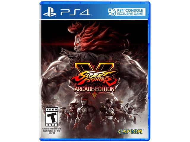 Street Fighter V: Arcade Edition (PS4) $25 AC @Newegg