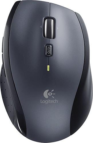 Logitech - Marathon Mouse M705 Wireless Laser Mouse - Black $20@BestBuy  (17 a/PM @Staples)