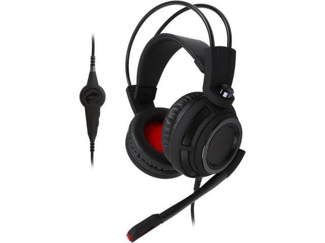 MSI DS502 Gaming Headset with Microphone, Enhanced Virtual 7.1 SS $26.66 AR @Newegg