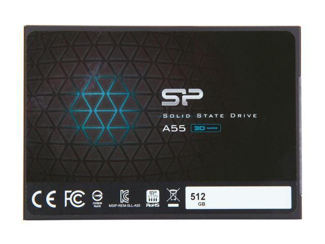 "Silicon Power Ace A55 2.5"" 512GB SSD $95 AC @Newegg 60GB Patriot Flare $20 AR"