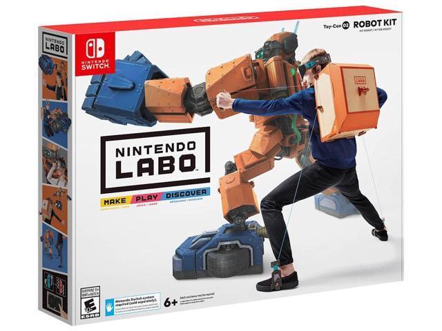 Nintendo Labo Robot Kit - Nintendo Switch (+$20GC) $80 AC @Newegg