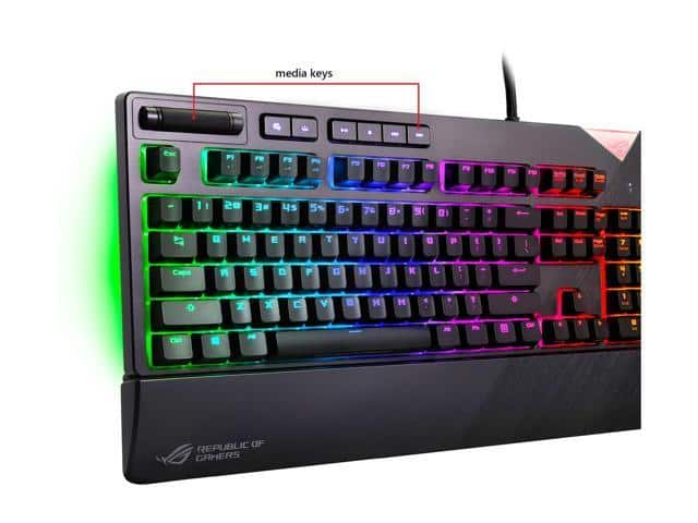ASUS ROG Strix Flare RGB Mechanical Gaming Keyboard with Aura Sync - Cherry MX Brown $150@Newegg