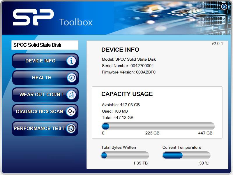 480GB Silicon Power S55 SSD  $85 AC @Newegg